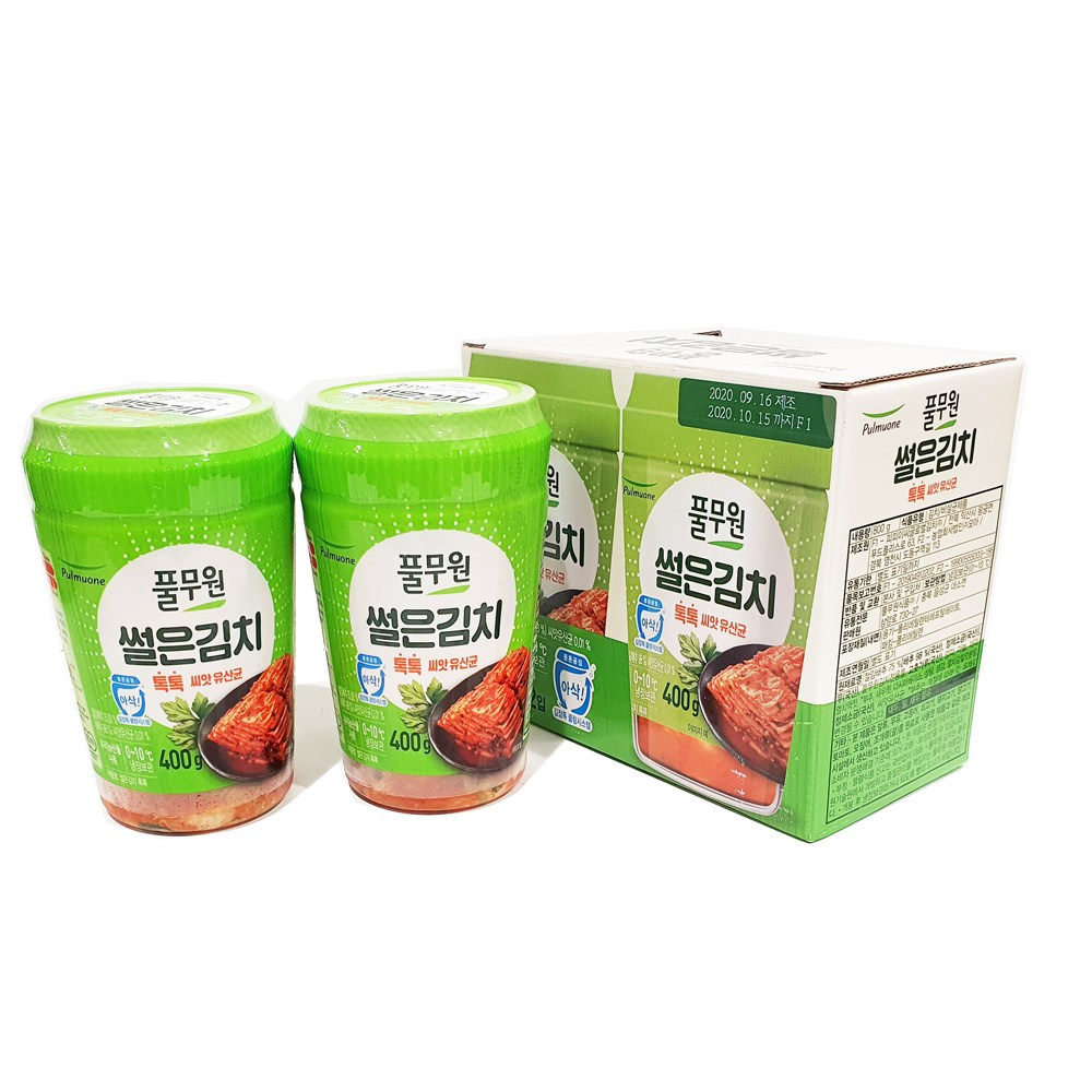 코스트코 풀무원톡톡썰은김치 800g (400g x 2팩) [아이스박스 당일출고]