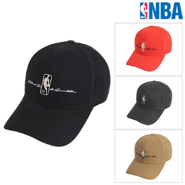 [현대백화점][NBA] N205AP040P 공용 로고맨 메탈 하드 커브캡 CAP-A 모자