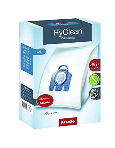 Miele [독일]Miele HyClean 3D 진공 백-37458, 02.맥시 팩 : 먼지 봉투 16, 단일옵션 (POP 4864998697)