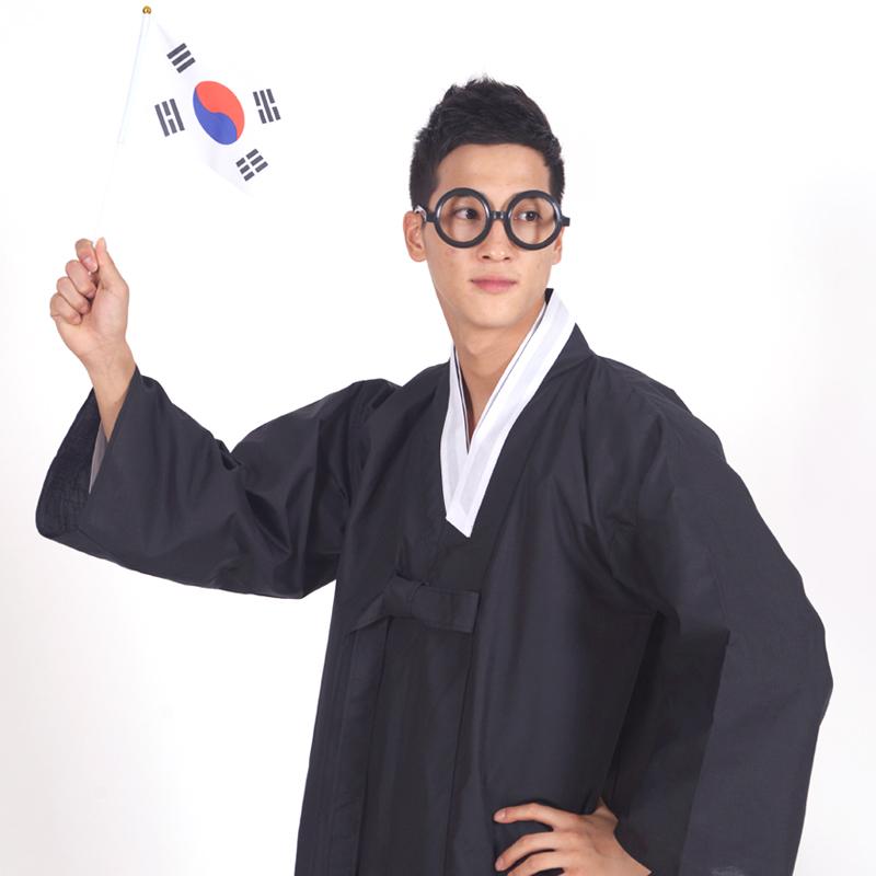 경남상회 두루마기 농민복 평민복 행사두루마기 남자 전통한복 남성두루마기 연극소품 한복 세트