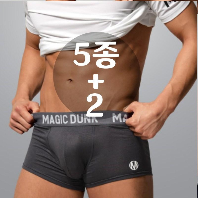 [매직덩크] A타입 5종+2 남성 Y존 완전분리 기능성 드로즈 팬티