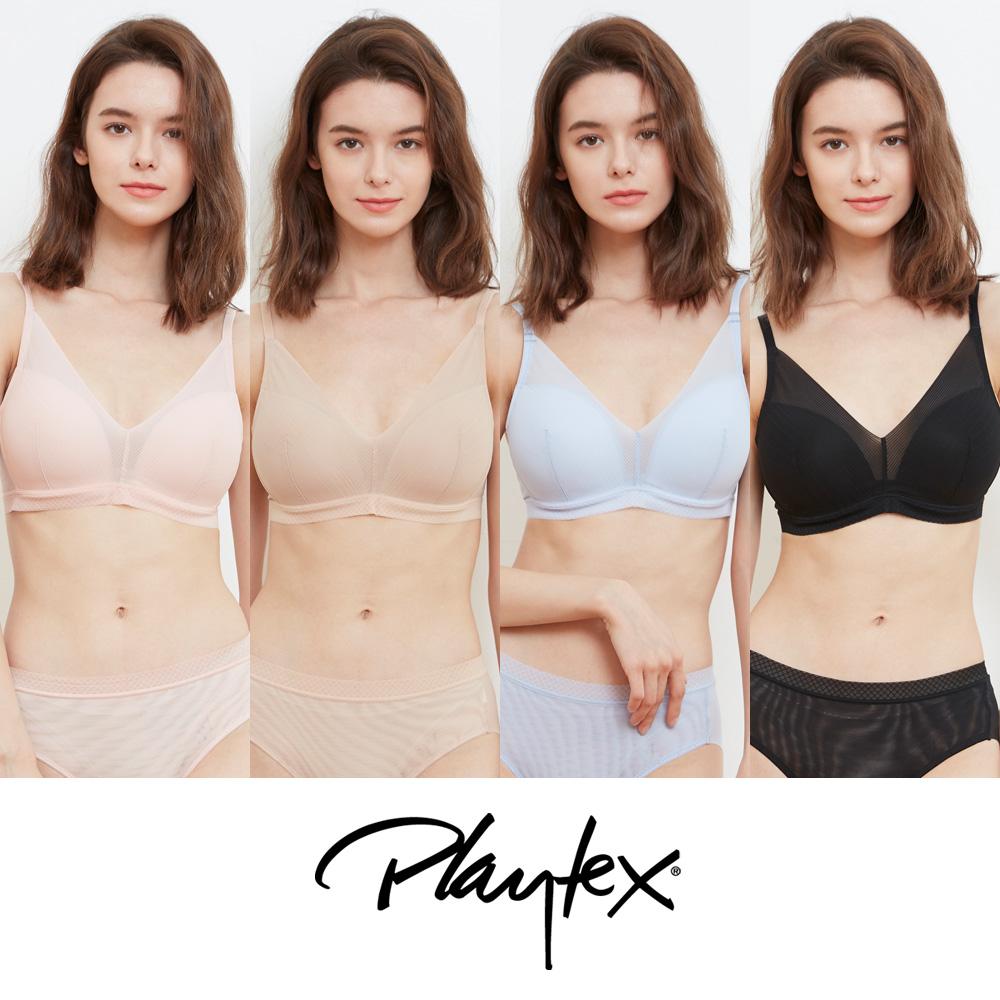 [Playtex] 플레이텍스 시스루 V 브라렛 8종세트 PXW0N33343536_T