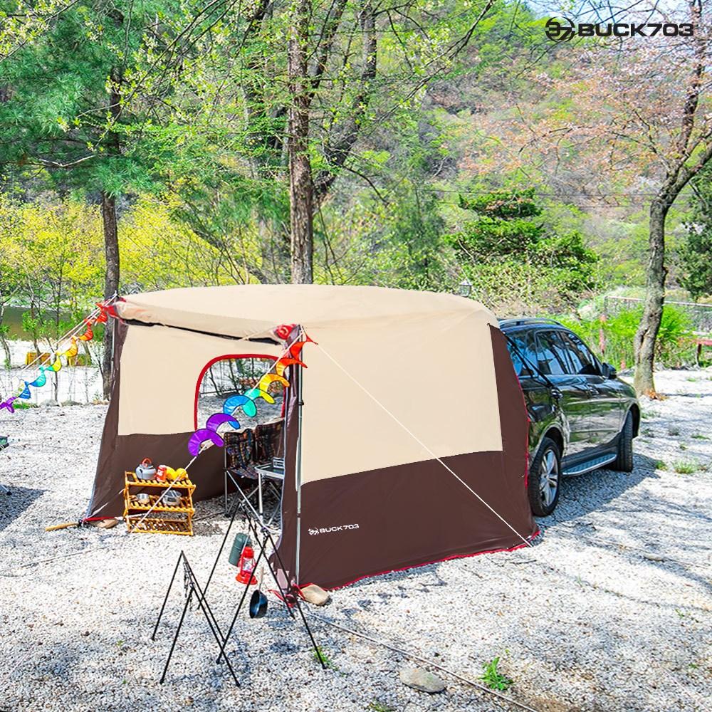 Buck703 프리미엄 차박도킹텐트 중대형 SUV용, 상세 설명 참조 (POP 1593843300)