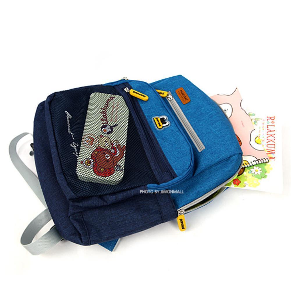 초등학교 2학년 남아용 투톤 메쉬백팩 블루 메기편한 학원가방 새학기 소풍
