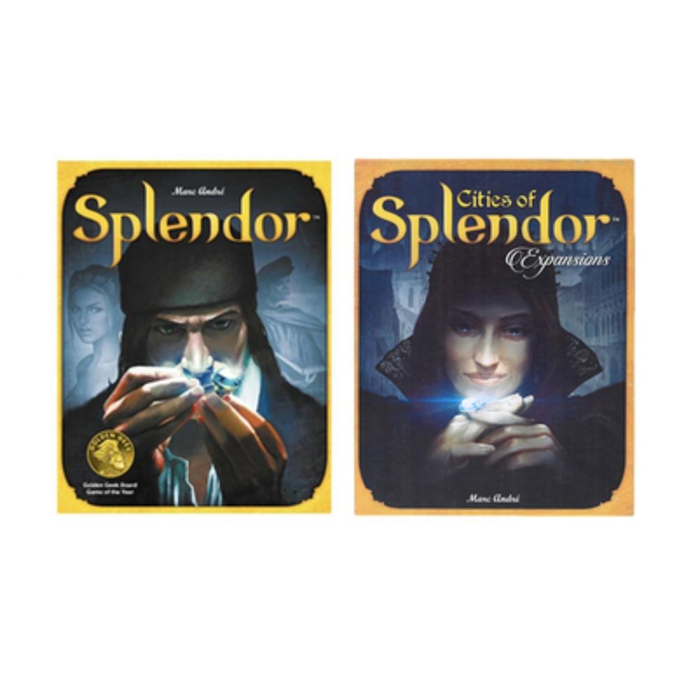 Splender 스플렌더 스플랜더확장판 영문판, 스플렌더 +  확장 + 오리지널카드