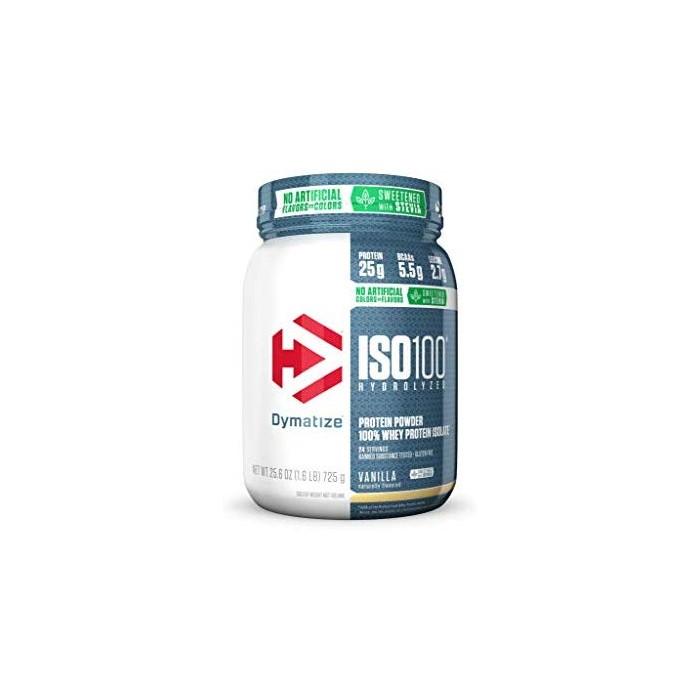 다이마티즈 ISO 100 하이드로라이즈 프로틴 BACCs 725g 바닐라 - Dymatize ISO100 Protein, 확인