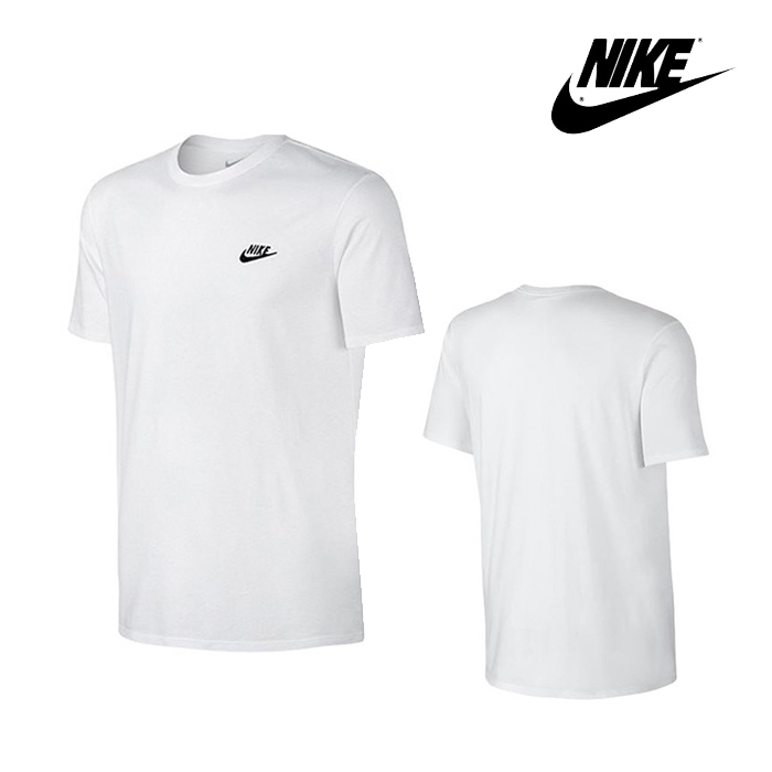 나이키 NSW 엠브로이드 FTRA 반팔티 827021-100 티셔츠