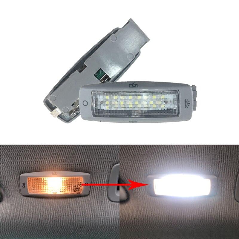 Led 후면 독서지도 돔 빛 천장 조명 3B0947291 B 폭스 바겐 골프 Passat 딱정벌레 Tiguan 캐디 Skoda Fabia 최고의 좌석 레온 시그널 램프 , 1개, 단일, 단일