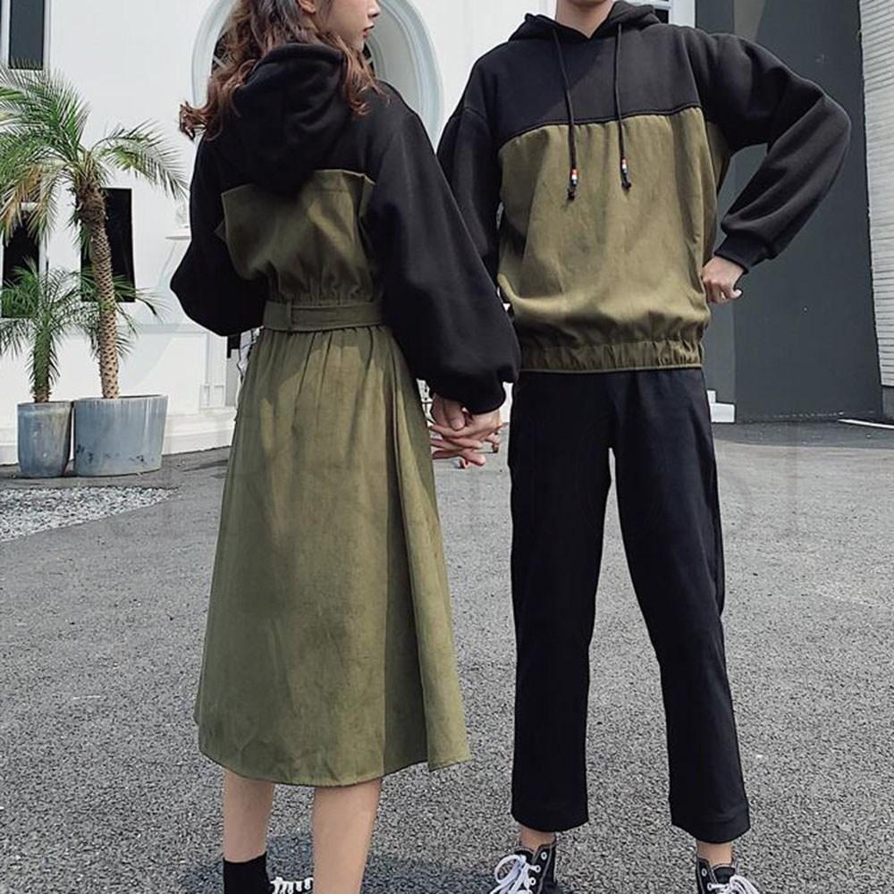 kirahosi 커플 시밀러룩 예쁜 원피스 티셔츠 슬림 7호+덧신증정 Tiben5b