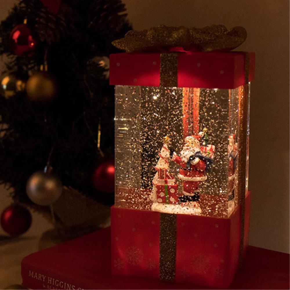 산타 오르골 감성 선물 성탄절 장식 소품 이쁜오르골, 눈사람