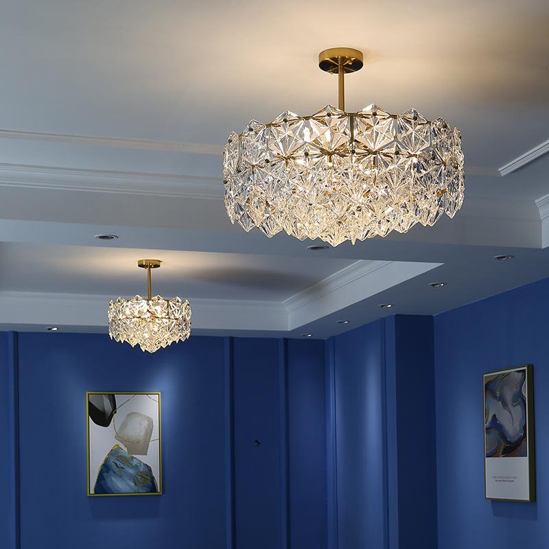 킨켈데이 김나영조명 샹들리에 북유럽 거실 침실 주방 카페 인테리어 샹들리에, 30*43CM(3색광원)