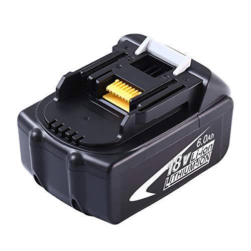 6.0Ah BL1860B 교체 배터리 LED 표시등이있는 Makita 18V와 호환 가능 리튬