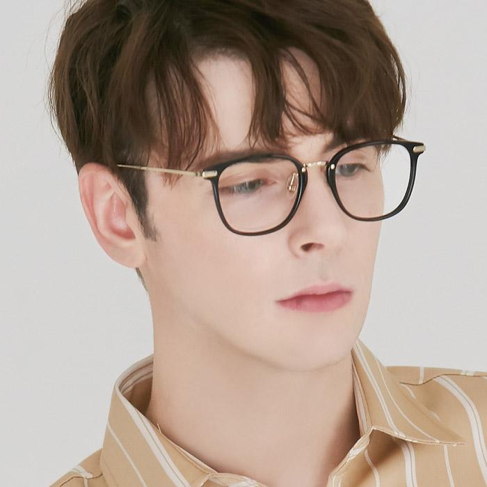 어나더루트 안경테 티타늄 명품 사각 뿔테 남자 여자 10g 가벼운안경 아시안핏
