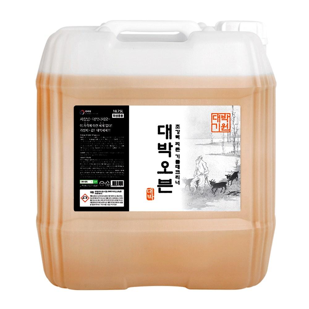 대박세제 초강력 오븐크리너 18.75L 업소용 대용량 무료배송, 1개