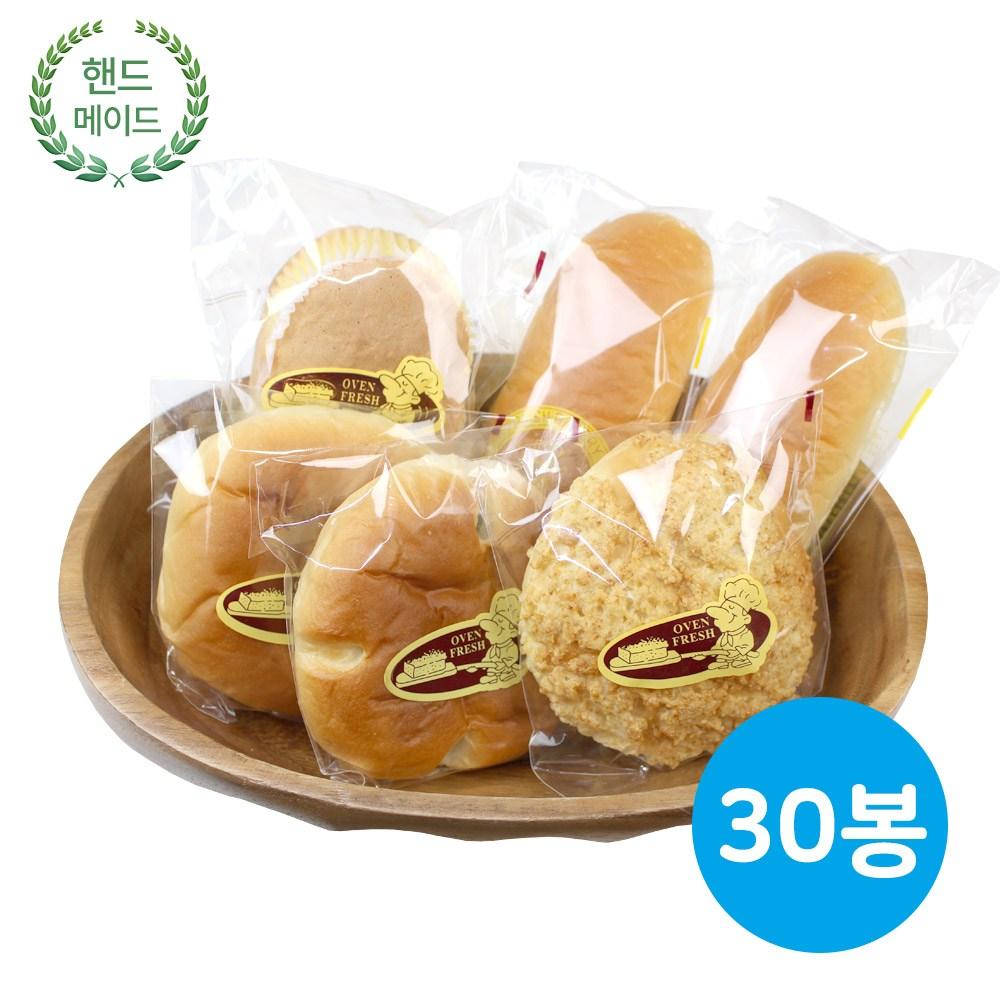 나라브래드 제과점빵 랜덤(3~4가지) (1박스), 30개, 80g