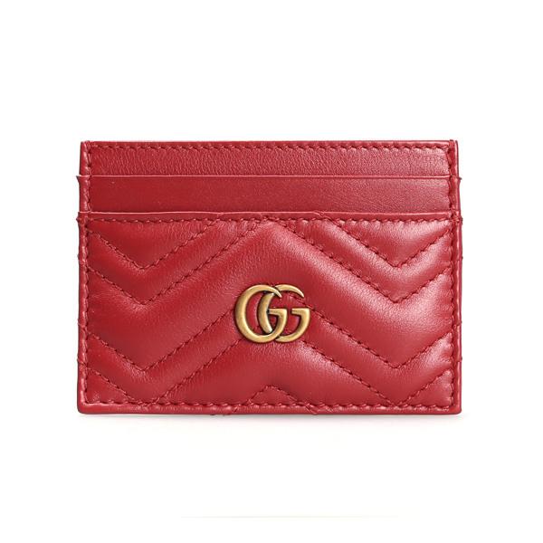 [구찌] [애트니] 여성 마몬트 카드지갑 443127 DTD1T 6433 RED
