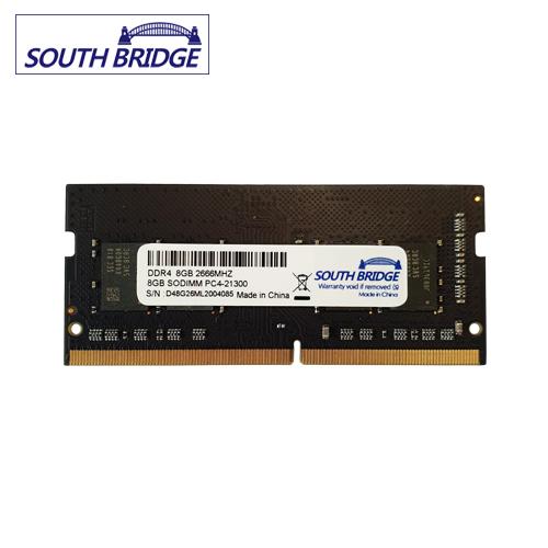 SOUTH BRIDGE 노트북 DDR4 8기가램 메모리 PC4-21300 2666MHz 새상품 노트북용, DDR4 노트북 8기가램 PC4-21300 2666MHz 새상품