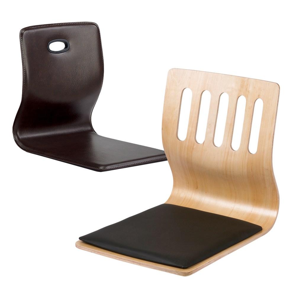 RM디자인 5구 원목 레자 좌식 고주파 식당 일식 의자, 레자좌식-월넛