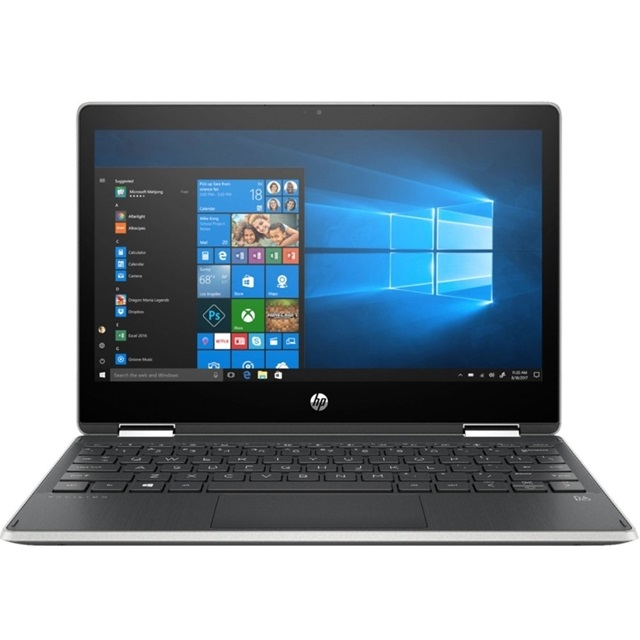 HP (11M-AP0013DX) Pavilion x360 2-in-1 11.6 Touch-Screen Laptop Intel Pentium 4GB Memory 128GB Solid State Drive Ash Silver, 단일색상, 11M-AP0013DX