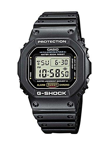 Casio 카시오 지샥 DW5600E-1V 남성 손목시계 Mens G-Shock Quartz Watch with Resin Strap Black B000GAYQKY