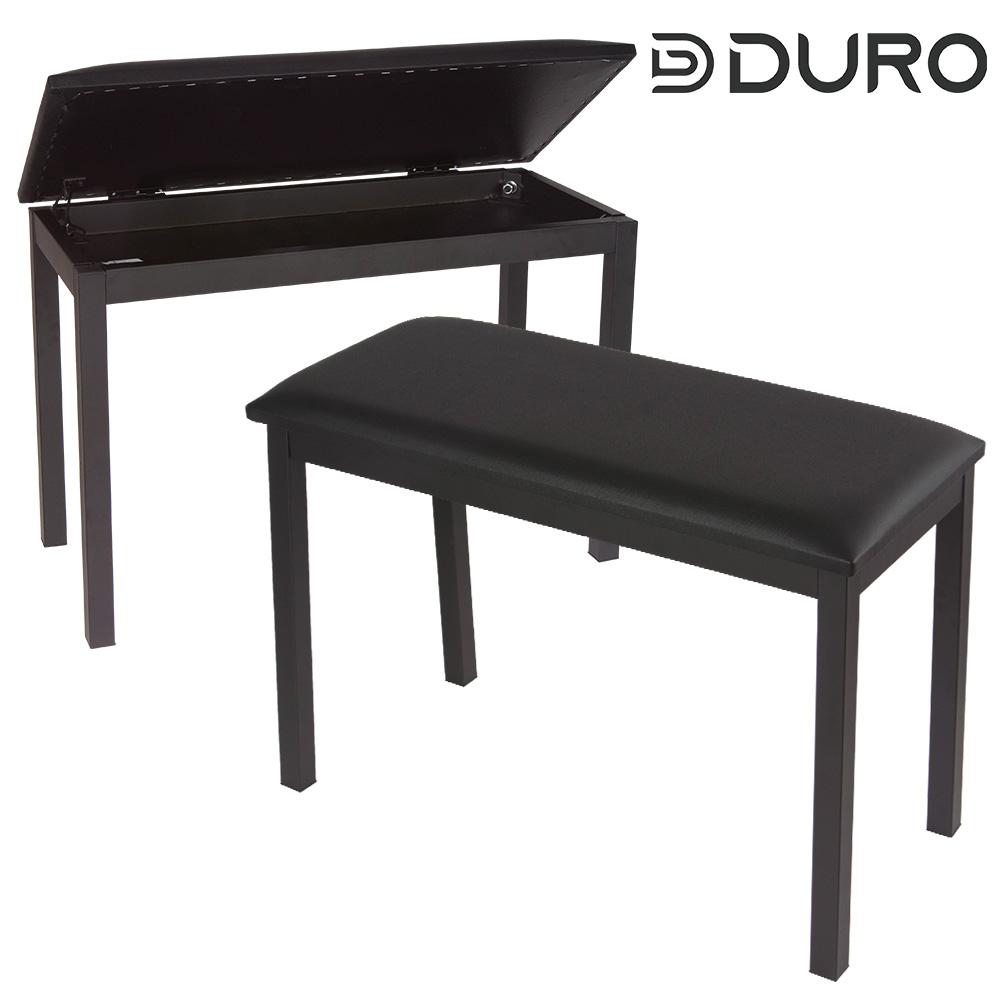듀로 DKB520 수납식 2인용 키보드 피아노 의자
