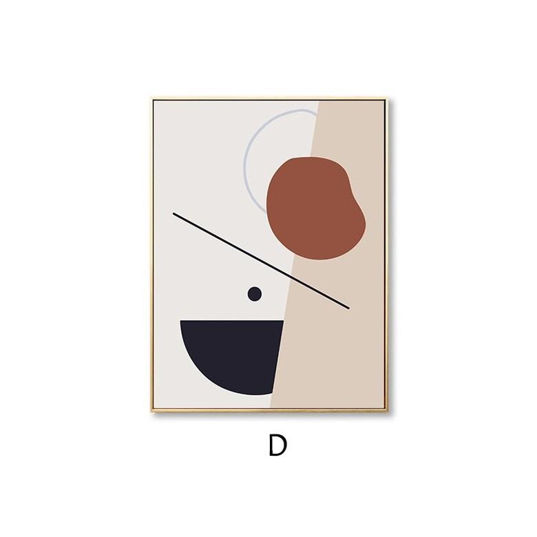 명화 액자 포스터 캔버스 그림 홈 아트 인테리어 장식, D_로그_48 * 64
