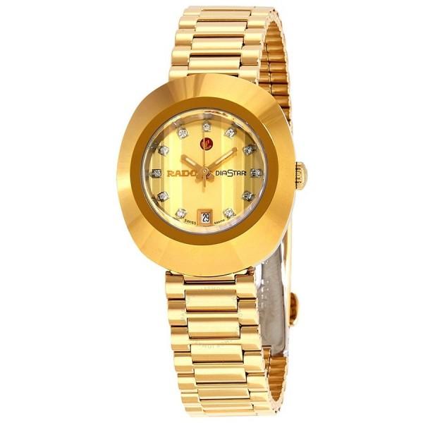 [R12416633] Original Diastar Champagne Dial Ladies Watch R12416633