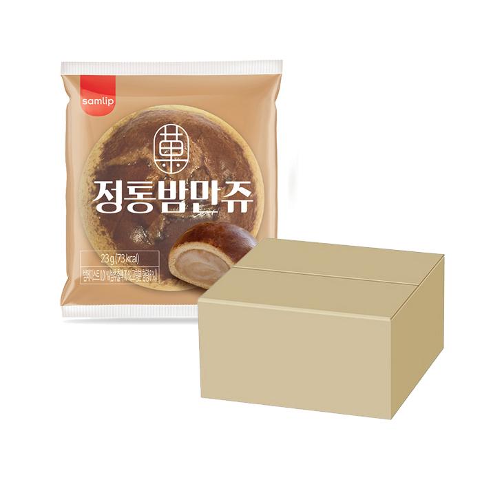 삼립 밤만쥬/오븐에구운도넛/허쉬초코도넛/108겹스틱파이, 정통 밤만쥬 50봉