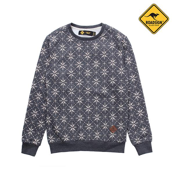 로드사인 [로드사인] P 유니 눈꽃 맨투맨 티셔츠-RDTX725A_CH