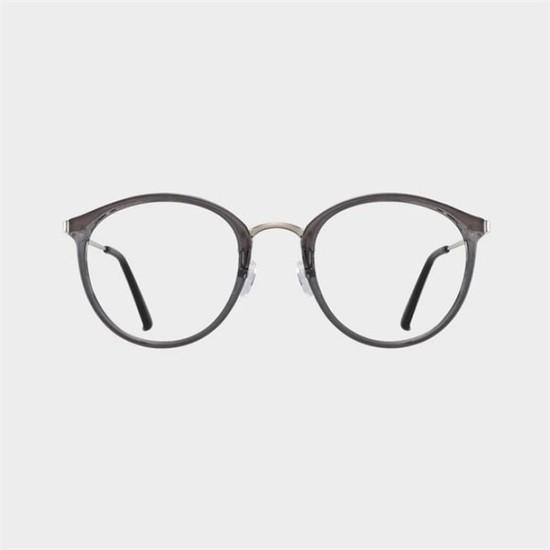 [하프클럽/블루엘리펀트]LOIS grey 안경 여자 반뿔테 안경태..