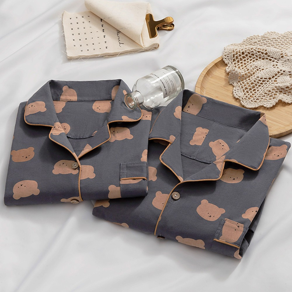 러블리 커플 잠옷 커플파자마 1+1 남녀 홈웨어세트 수면잠옷