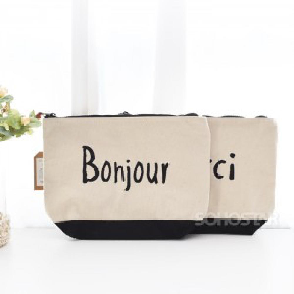 [AKH_5267575] (선택 : Bonjour) 이자와 비비르 보냉 클러치 보냉클러치백 쿠론클러치백 여자클러치백 다용도클러치백 가병운클러치백