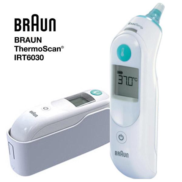 정품인증 브라운 귀 적외선 체온계 IRT-6030+필터21개, 단품