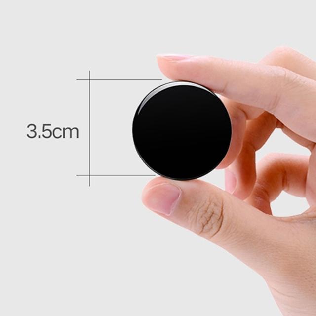초소형 녹음기 브로치 뱃지형 원형 3.5cm 20시간 녹음, 4GB/A형