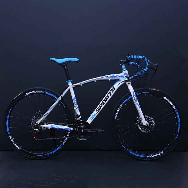엔라인 남녀공용 21단 26인치 로드자전거 멀키컬러A780, 163cm, 블루