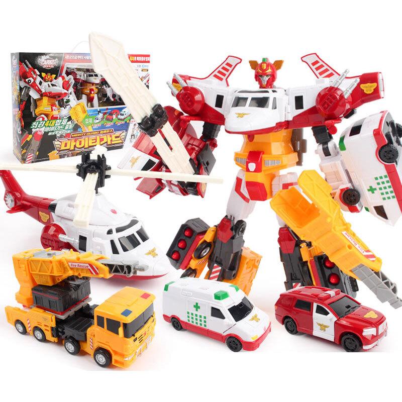 헬로 카봇 마이티가드 로봇 장난감
