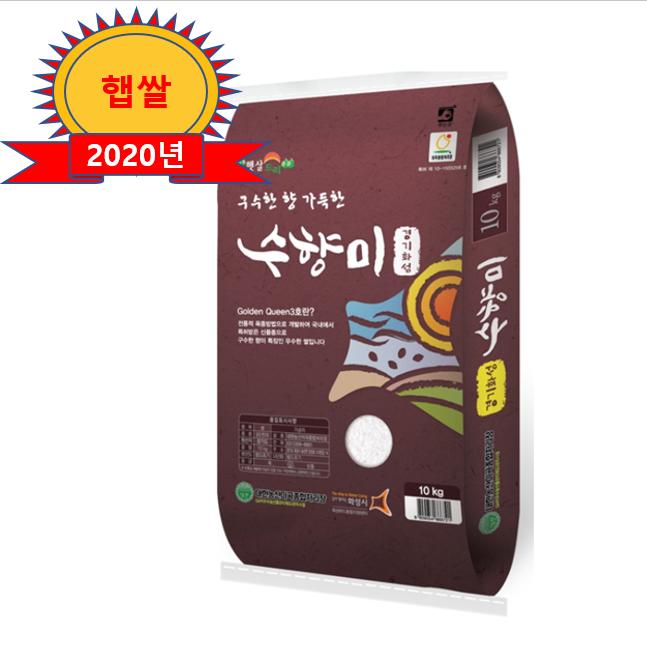 대한농산 착한쌀집 수향미 골드퀸3호, 1포, 10kg
