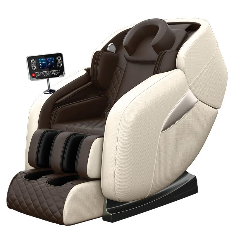안마 의자 가정용 전신다기능 마사지 전자동 안마기 Chigo Chigo 전기 4d, 럭키 커피 (POP 5738483048)
