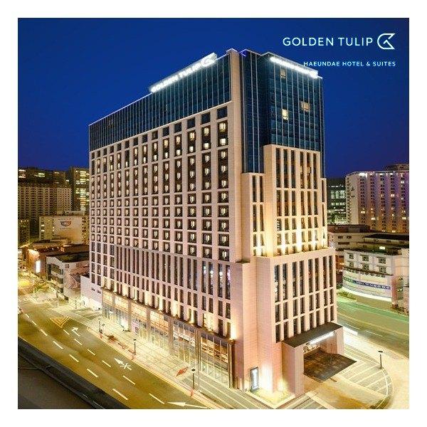 [해피한] [호텔 숙박권] [튤립로프트룸] 골든튤립 해운대 호텔&스위트 숙박 이용권 2박, 상세 설명 참조