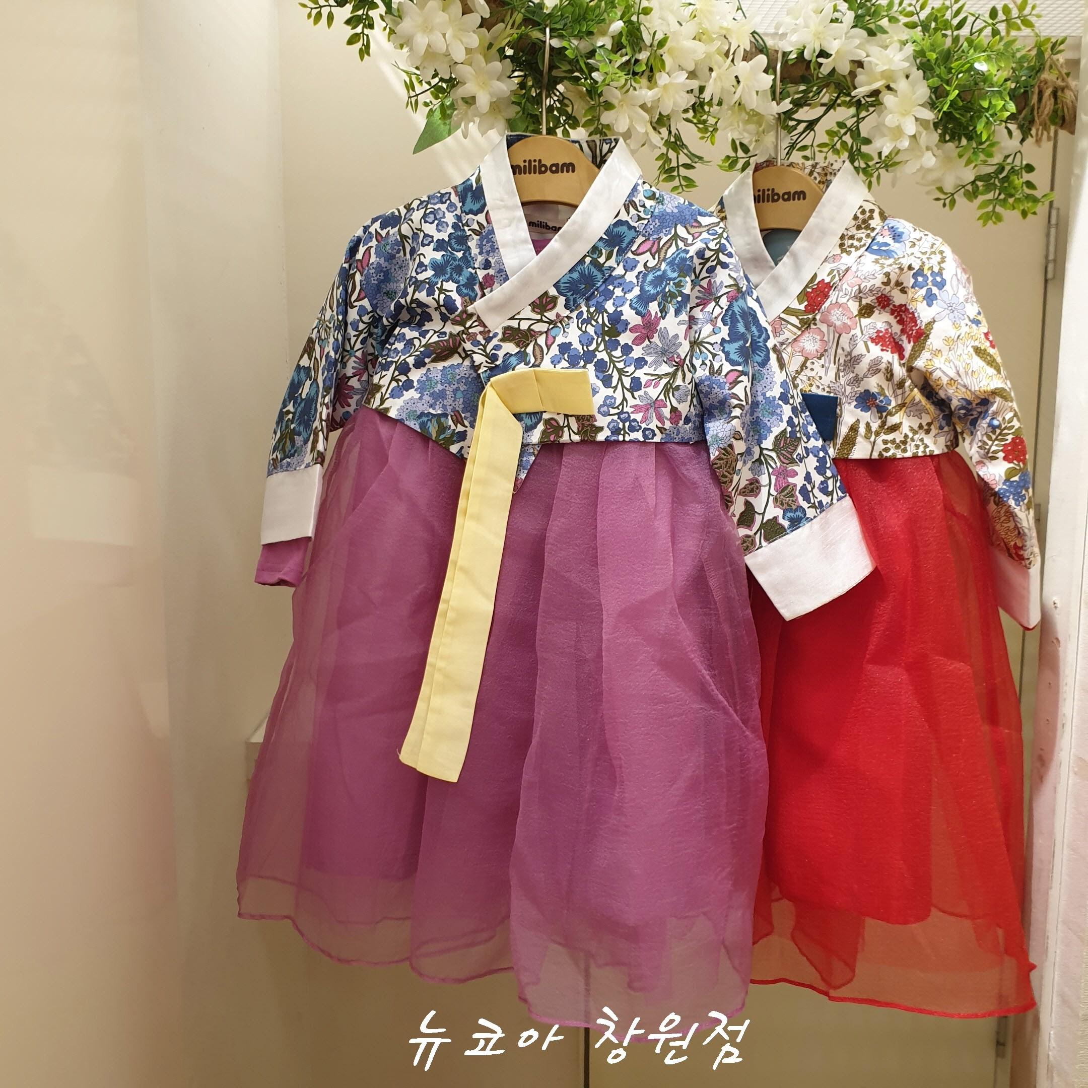 밀리밤 [뉴코아 창원점] 황진이처럼 예쁜 꽃한복 MLOW19A79