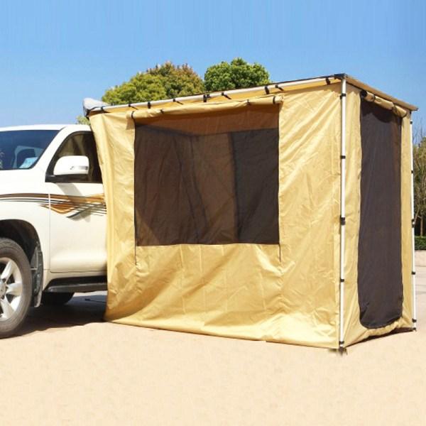 캐노피 자동차 사이드 차박 텐트, 2 * 2.5 천 집