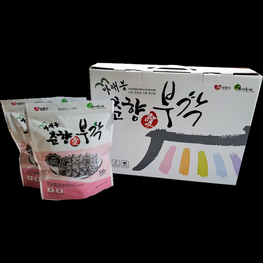 바래봉춘향애김부각 춘향애김부각 선물셋트(소), 1박스, 250g