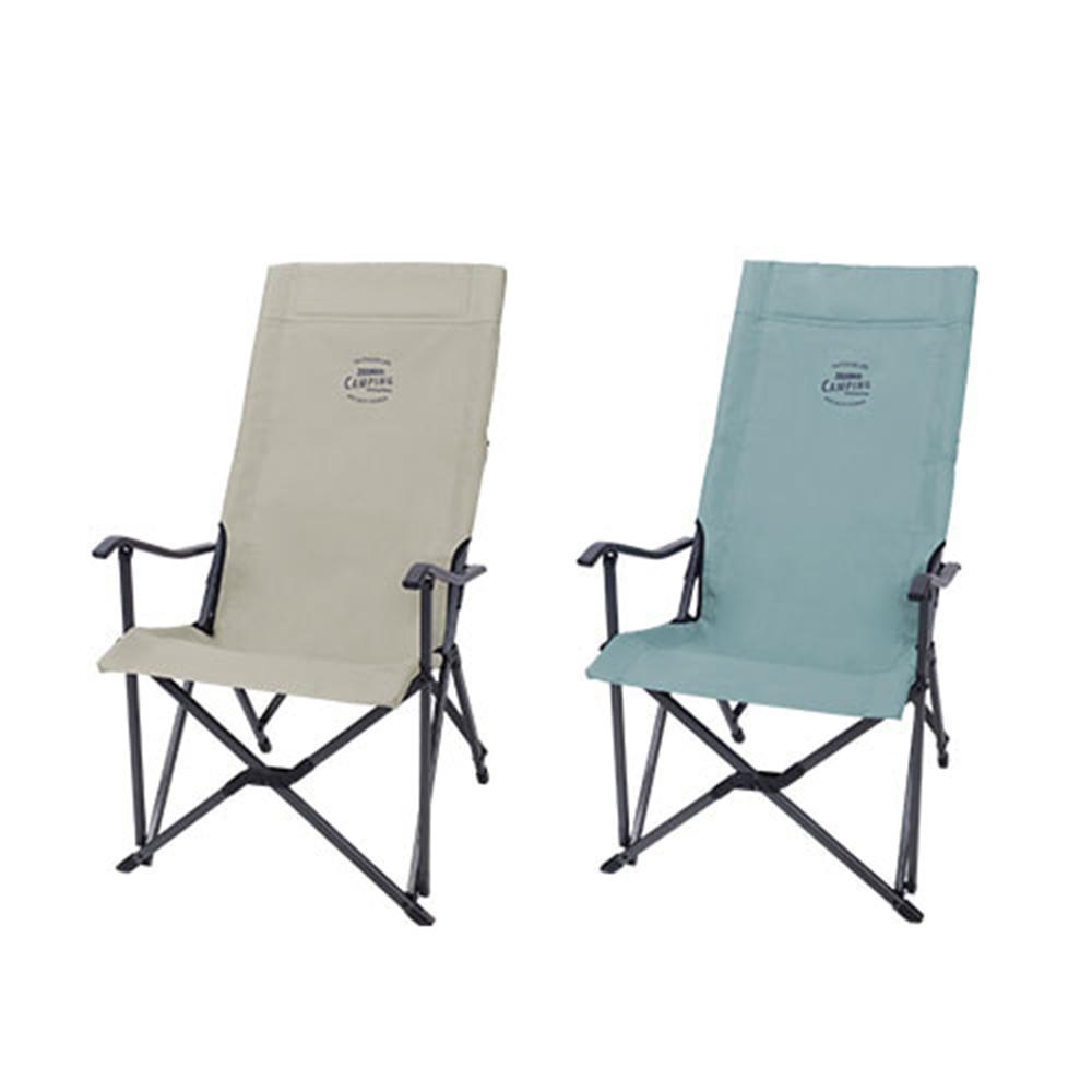 스노우라인 롱 릴렉스 체어 2019 ( snowline 캠핑 아웃도어 의자 ), 미드 그린, 1개