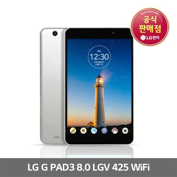 LG전자 G패드3 8.0 WiFi 8형/16GB LGV425 태블릿PC, 단일상품, 단일상품