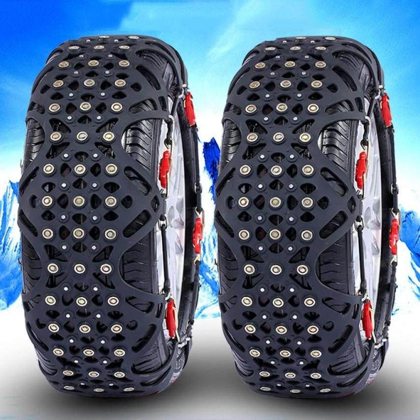 kirahosi 차량용 타이어 스노우체인 우레탄 자동차 체인 231호+ 덧신 증정 CCm5oh6c, 1