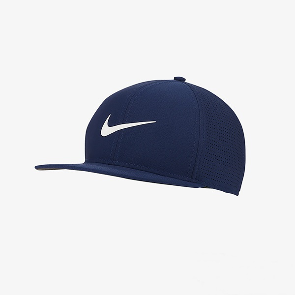 나이키 NIKE AeroBill 에어로빌 어드저스터블 골프 모자 643-100 (네이비 화이트), 네이비화이트