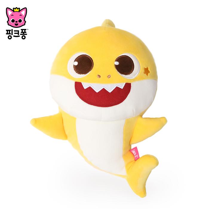 [위존]NEW 핑크퐁 랄랄라 노래하는 아기상어 안전벨트 인형, free