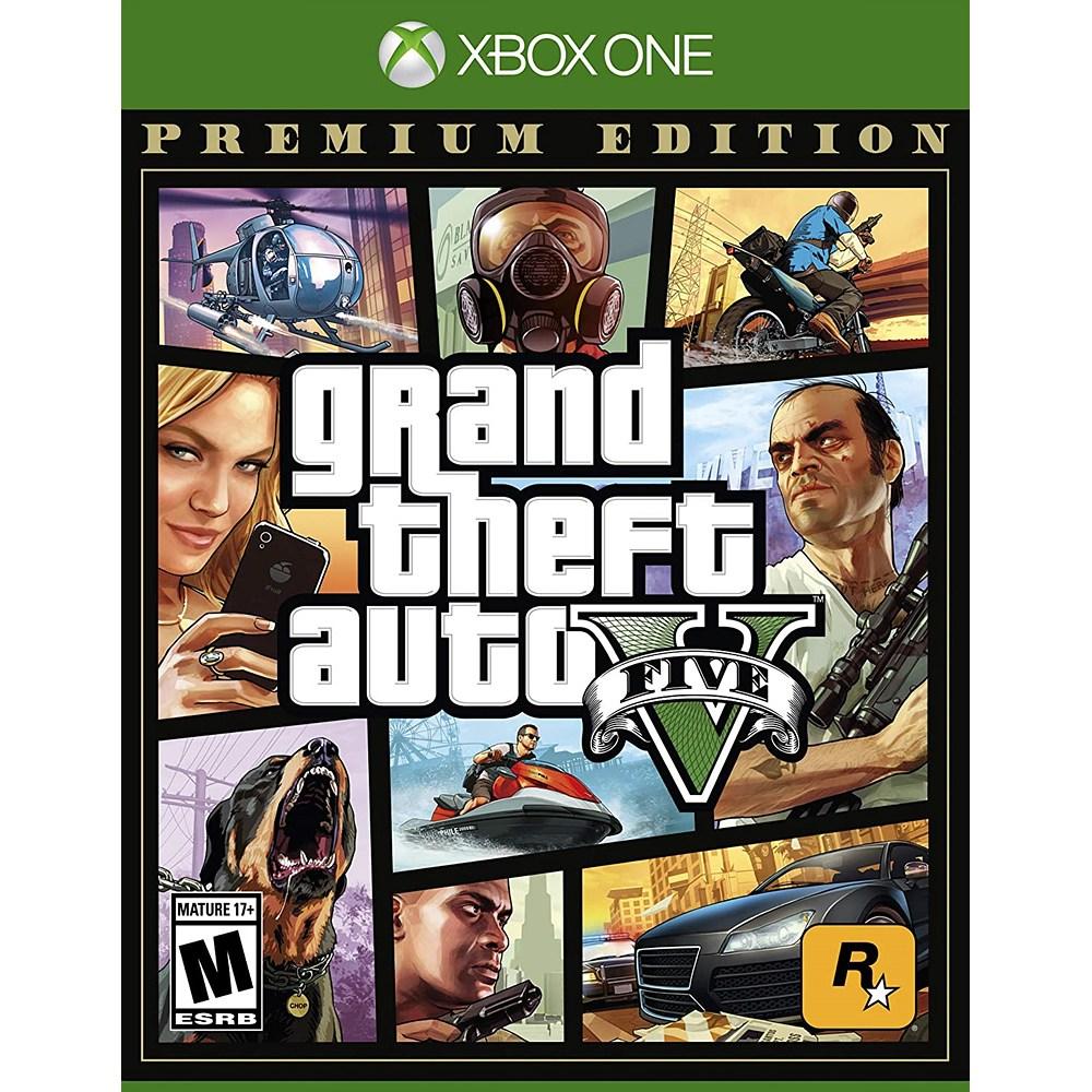 GTA 5 프리미엄 Grand Theft Auto V - Xbox One, 단일상품