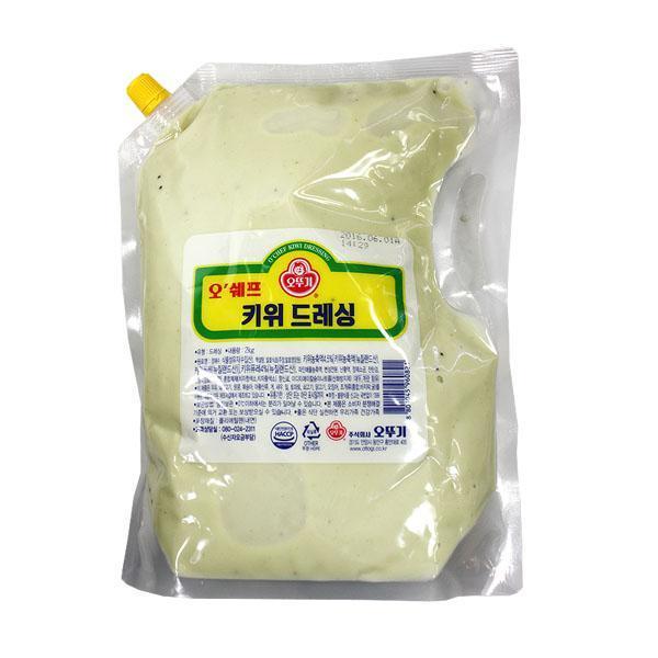 ksw7037 (냉장)오쉐프 키위드레싱2kg-묶음배송(6가능), 1