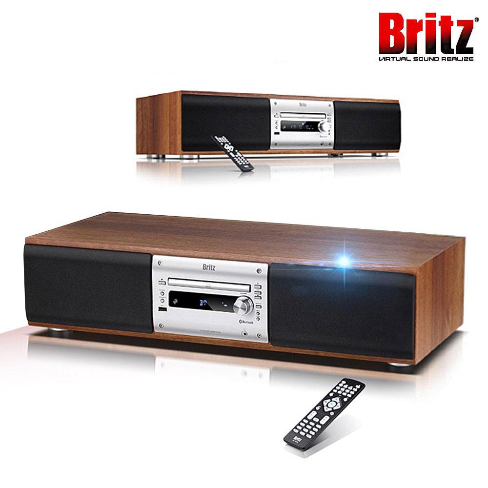 브리츠 BZ-T8700 명품오디오 블루투스 CD플레이어 일체형